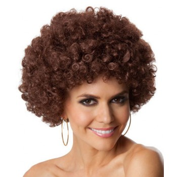 Party Afro Brown Unisex Adult Wig.jpg