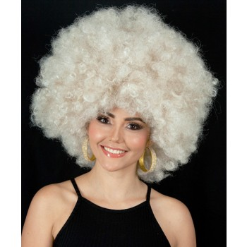 Super Jumbo Dark Blonde 70's Afro Disco High Quality Unisex Adult Wig.jpg