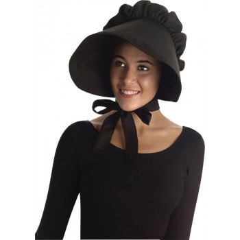 Black Colonial Bonnet .jpg