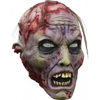 Scary Gory Zombie Brains Adult Costume Latex Mask.jpg