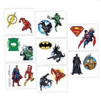 Justice League Tattoos Pack of 8.jpg