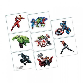 The Avengers Tattoos Pack of 8.jpg