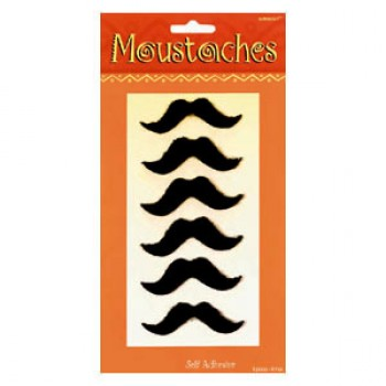 Self Adhesive Fiesta Mustaches Pack of 6.jpg