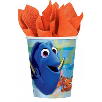 Finding Dory Paper Cups 266ml Pack of 8.jpg