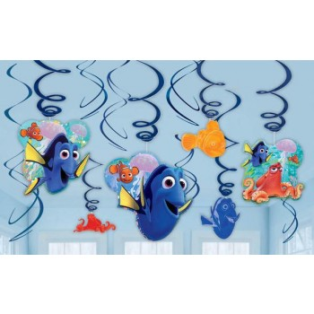 Finding Dory Hanging Swirl Decorations Value Pack of 12.jpg