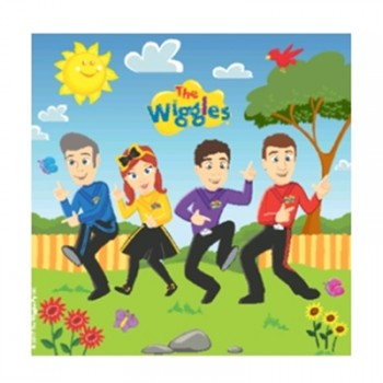 The Wiggles Napkins Pack of 16.jpg