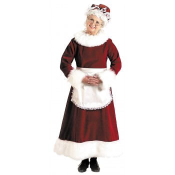 Santa Dress Mrs. Claus Long Adult Women's Christmas Costume.jpg
