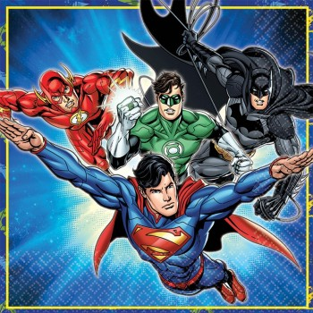 Justice League Lunch Napkins Pack of 16.jpg