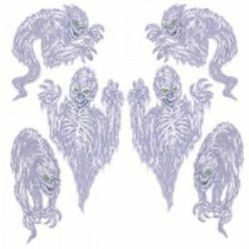 Scary Spirit Cutout Props Pack of 6.jpg