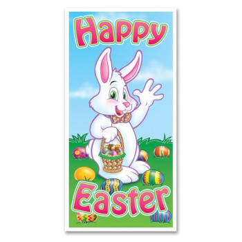 Happy Easter Plastic Door Cover.jpg