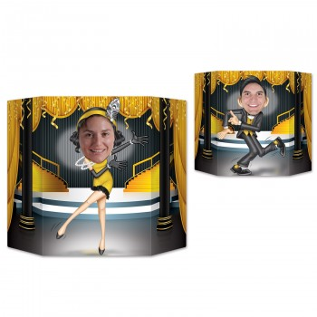 Great 20's Dancers Double Sided Cardboard Photo Prop.jpg