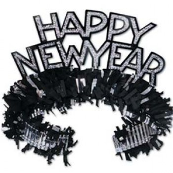 Happy New Year Black Silver Regal Tiara.jpg