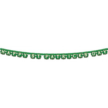 Shamrock Happy St Patrick's Day Streamer.jpg