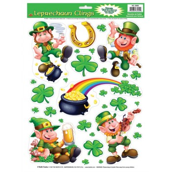 Leprechaun Shamrock Clings.jpg