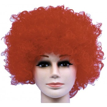Adult Curly Clown Red Budget Wig Costume Hair Accessory.jpg