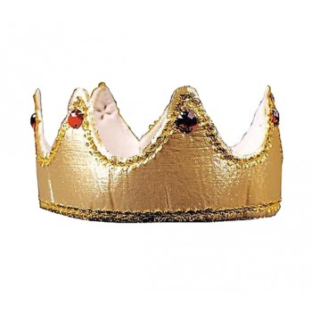 Royal King Gold Foam Crown With Jewels.jpg