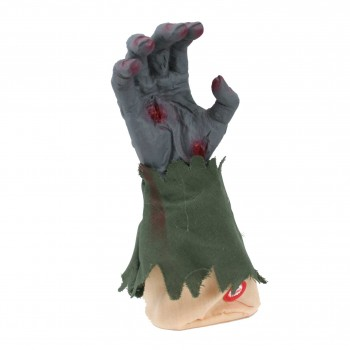 Zombie Hand Animated Halloween Prop With Sound Assorted Colours.jpg
