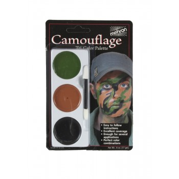 Mehron Tri Color Palette Camouflage Adult Makeup Costume Accessory.jpg