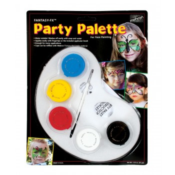 Mehron Fantasy FX Party Palette Face Paint Halloween Makeup Costume Accessory.jpg