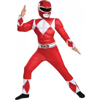 Mighty Morphin' Power Rangers Red Ranger Classic Muscle Child Costume.jpg