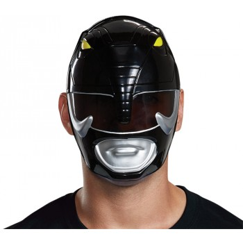 Mighty Morphin' Power Rangers Black Ranger Adult Mask.jpg