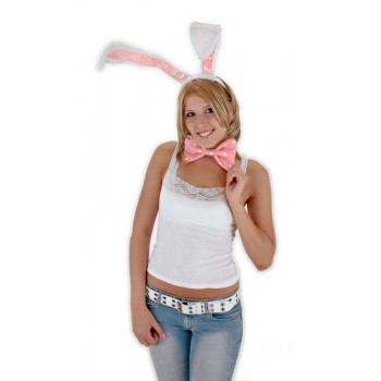 Bunny Ears Bow Tail Set White Adult.jpg