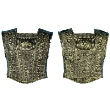 Roman Warrior Gladiator Chest Plate Costume Accessory (2 Pieces).jpg