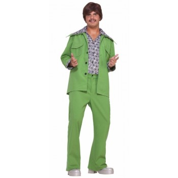 70s Leisure Suit Adult Disco Costume Green .jpg