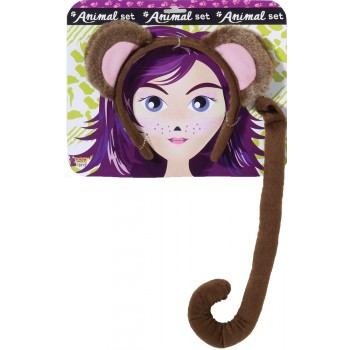 Monkey With Tail Adult Costume Kit.jpg