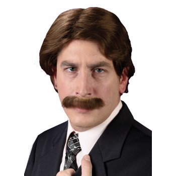 1970's Wig with Matching Mustache Costume Accessory Set.jpg