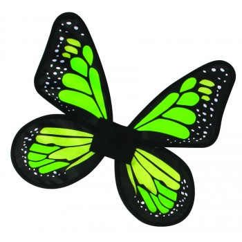 Child Satin Butterfly Pixie Fairy Costume Wings Green.jpg