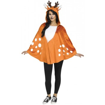Fawn Character Poncho Adult Costume Accessory.jpg