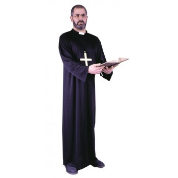 Adult Priest Robe with Collar Costume One Size.jpg