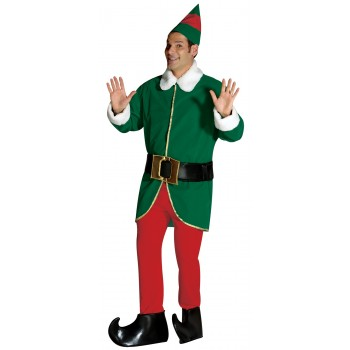 Red and Green Elf Adult Costume.jpg