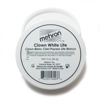 Mehron Clown White Lite 2oz Stage Face Body Paint Makeup Costume Accessory.jpg