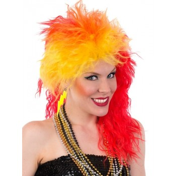 1980s Cyndi Lauper True Colors Costume Wig Red Yellow.jpg