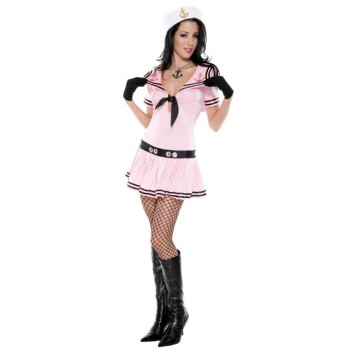 Sassy Sailor Pink Adult Women's Costume.jpg