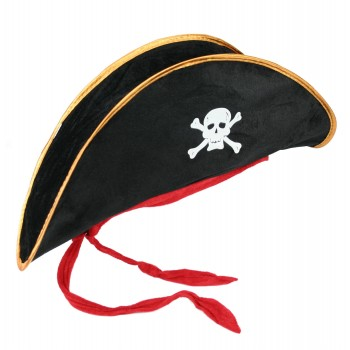 Skull And Crossbones Pirate Adult Hat.jpg