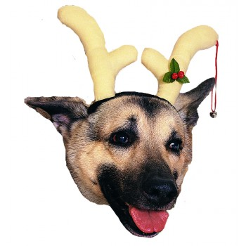 Pet Dog Reindeer Antlers Christmas Cute Costume.jpg