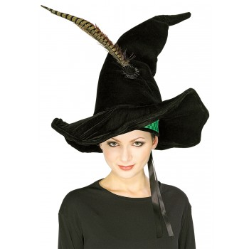 Harry Potter - Minerva McGonagall Hat with Feather Adult Costume Accessory.jpg