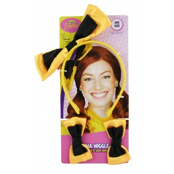 The Wiggles Emma Yellow Wiggle Headband and Shoe Bows Child Costume Accessories.jpg