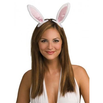 Bunny Rabbit Ears On Clips Adult Costume Party Accessory.jpg