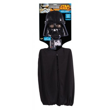 Star Wars Darth Vader Child Face Mask & Cape Costume Accessory Kit.jpg
