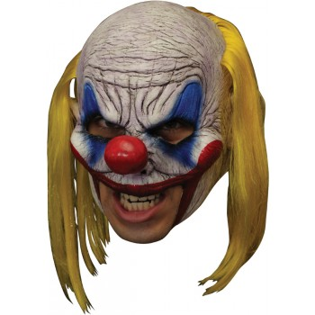Clooney Clown Deluxe Chinless Adult Latex Mask.jpg