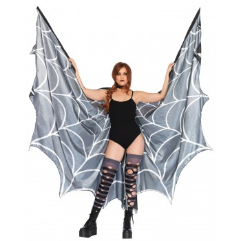 Spider Web Halter Wing Cape Adult Costume Accessory.jpg
