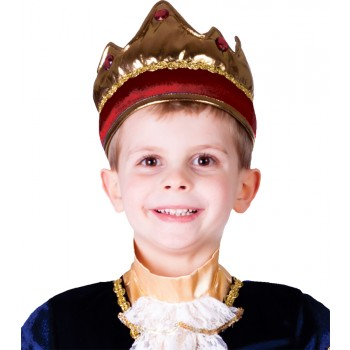 Child Red Crown Renaissance King Costume Accessory.jpg