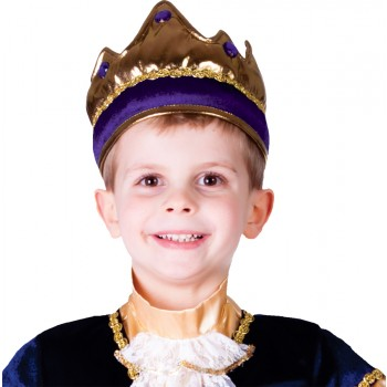 Child Purple Crown Renaissance King Costume Accessory.jpg