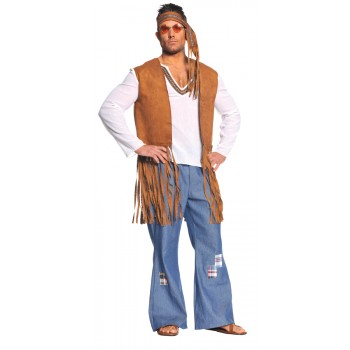 60's Hippie Right On Adult Costume One Size.jpg