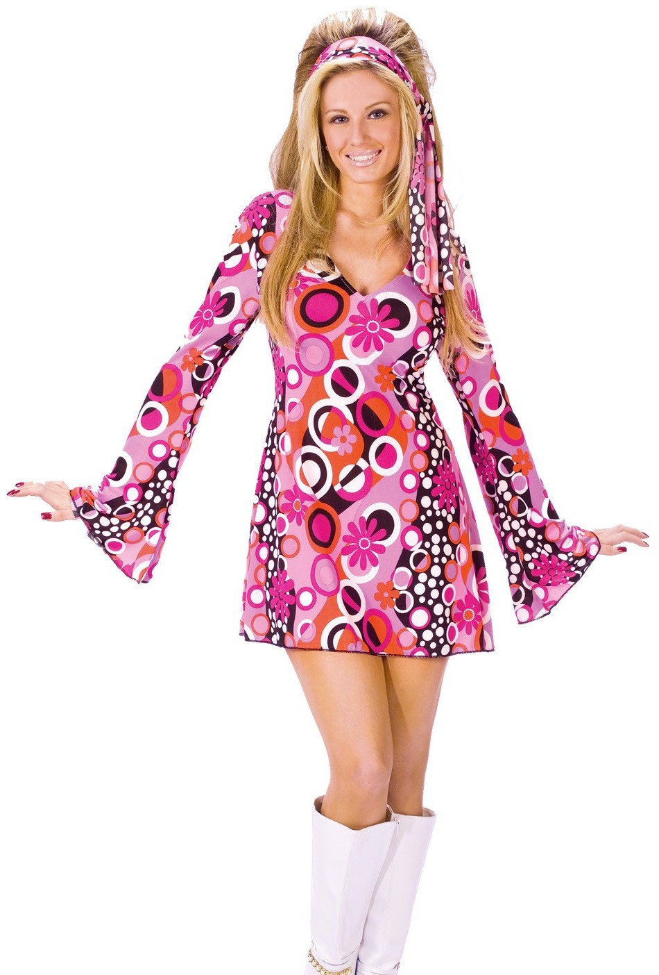 Christmas gown ideas 70s halloween - Feelin Groovy 1960s 1970s Adult Women S Costume