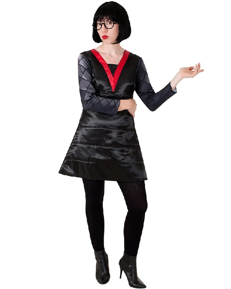 The Incredibles Edna Mode Deluxe Adult Costume Costumes Com Au